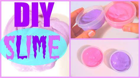 diy slime  borax  liquid starch youtube