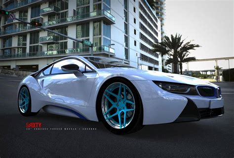 modified bmw i8 6sixty design launches custom wheels for the bmw i8
