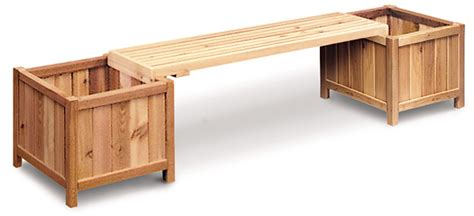 bench with planter box plans wooden planter bench plans pdf plans