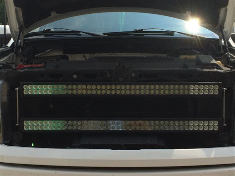 Led Light Bar Grill Dual 40 Quot Light Bars Grille Ford F150 Forum Community Of Ford Truck Fans