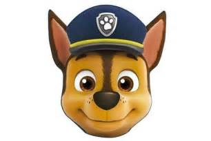 paw patrol chase face cushion blue craze uk