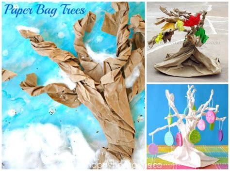 How Do They Make Paper Out Of Trees - 35 cool things to make with a paper bag happy