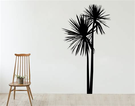 wall stickers nz new zealand cabbage tree your decal shop nz designer