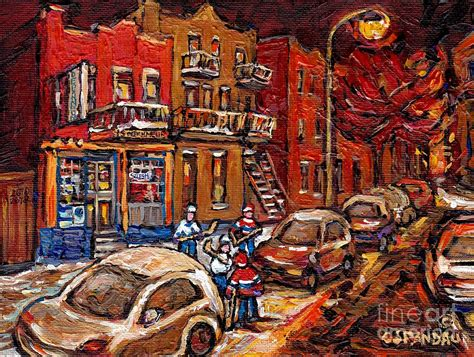 paint nite montreal montreal painting hockey on rue centre at