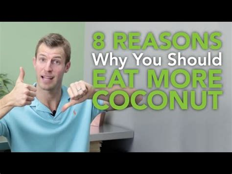 Nagalase Detox by 8 Reasons Why You Should Eat More Coconut Anti