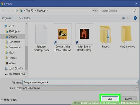 how to install apk files from a pc on android with pictures