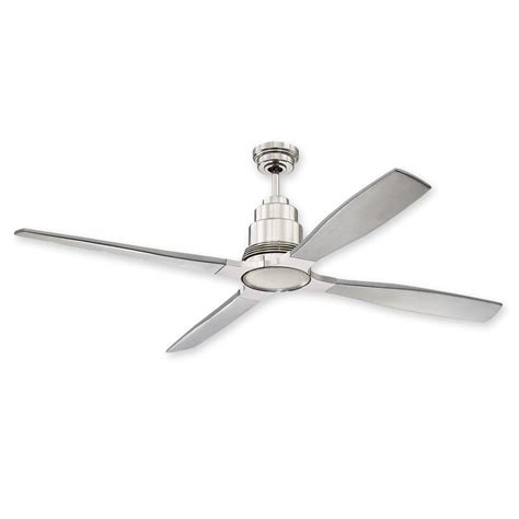 polished nickel ceiling fan 60 quot craftmade ricasso ceiling fan ric60pln polished