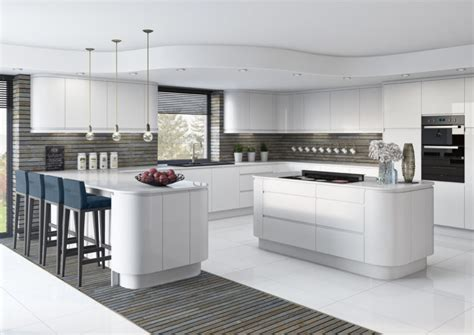 white gloss kitchen designs fitted kitchens white gloss lucente starplan ni