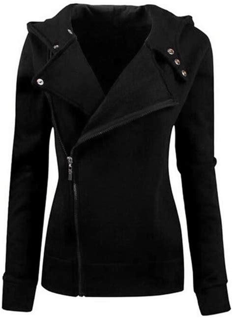 Jacket Jipper Hoodie 20 s casual turn collar solid color slim fit zip up hoodie jacket azbro