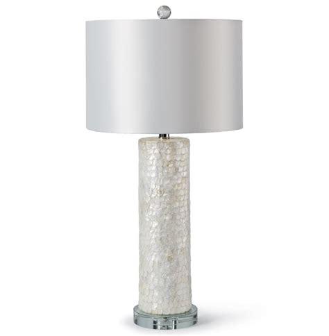 Capiz Shell Table Lamp sapelo coastal beach ivory capiz shell table lamp kathy