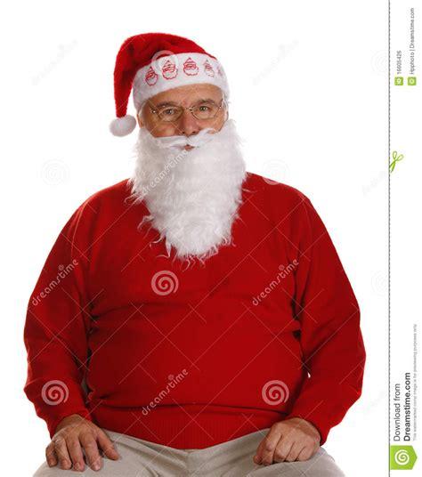 Kaos Santa Clas Is My Grand Pa grandfather as a santa claus royalty free stock image image 16605426