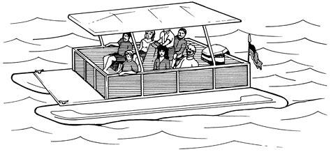 pontoon boat clipart free pontoon boat clipart clip art net