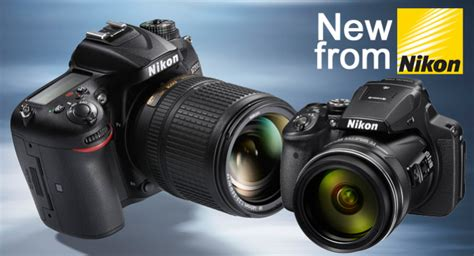 Nikon D7200 Vs P900 by Nikon Release D7200 And Coolpix P900 Cameraworld Cameraworld