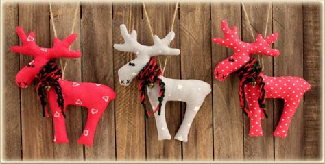 set of 3 toys reindeer decor winter d 233 cor gift