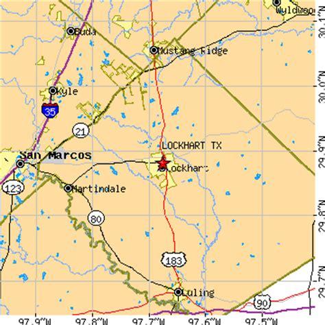 lockhart texas map lockhart texas tx population data races housing economy