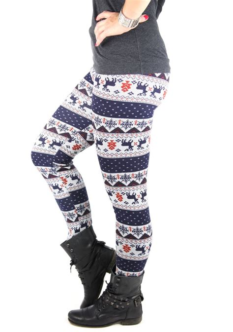 different pattern tights warm lined ladies leggings different colors pattern