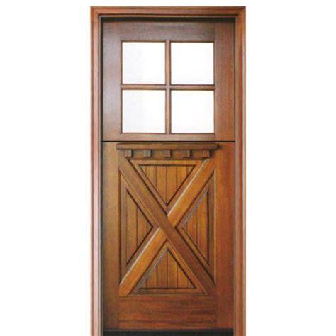 Crossbuck Exterior Door Crossbuck Entry Door Exterior 9 Lite 2 Panel