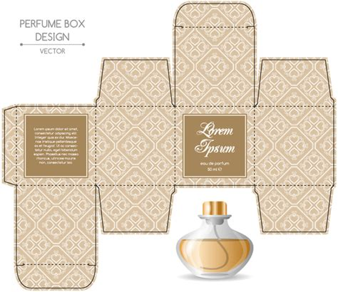 the packaging and design templates sourcebook perfume box packaging template vectors material 10