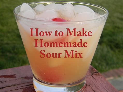diy sour mix recipe dishmaps