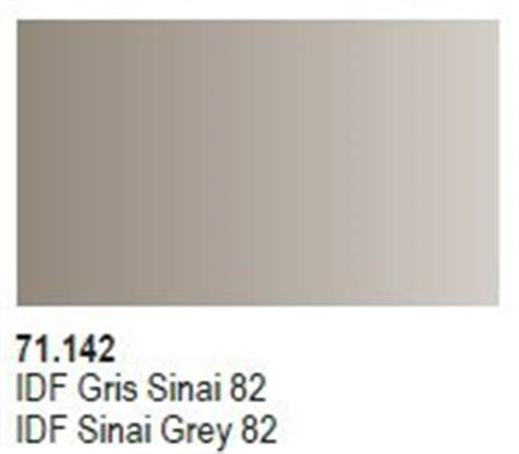 Vallejo 71142 Idf Sinai Grey 82 Model Kit Paint idf sinai grey 82 vallejo 71142