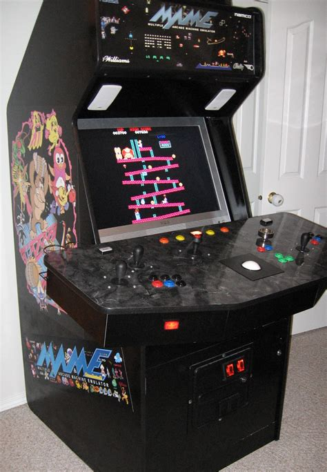 Mame Cabinet Side by Anybody Build Their Own Mame Arcade Cabinet Ar15