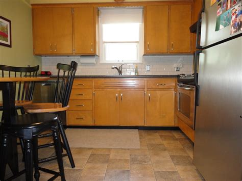 50s kitchen cabinets 1950s millwood kitchen update traditional kitchen