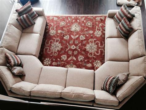 media room sofa sectionals extraordinary beige fabric u shaped sectional sofa for