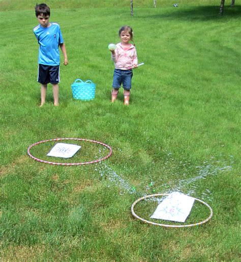 Garden Answer Age Water Balloon Learning After School No Time For