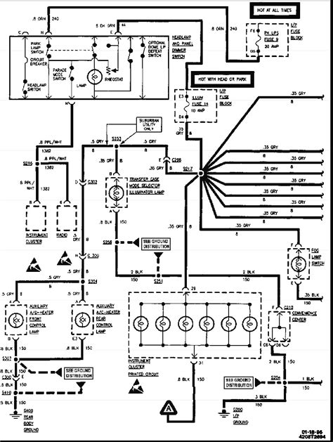 1998 gmc truck wiring diagram 1984 chevy engine wiring