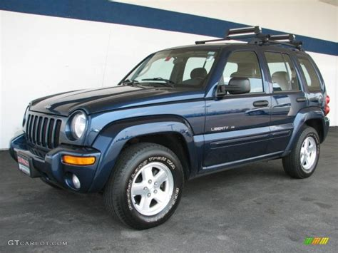 patriot jeep blue 2003 patriot blue pearl jeep liberty limited 4x4 33146518