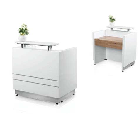 Modern White Color Small Cheap Reception Desk View Cheap Small White Reception Desk