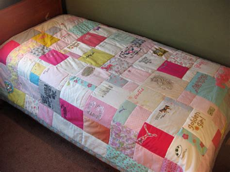 How To Make Quilt Out Of Baby Clothes by Quilts Made Of Baby Clothes That Way You Can Keep Them
