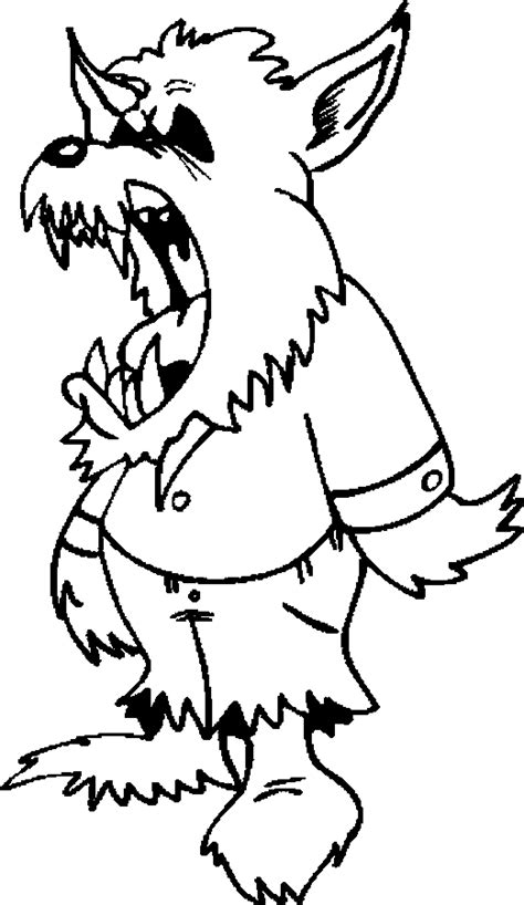 werewolves coloring pages  kids updated