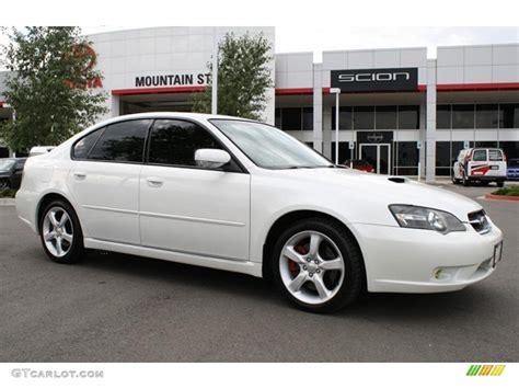 subaru legacy white 2006 satin white pearl subaru legacy 2 5 gt limited sedan