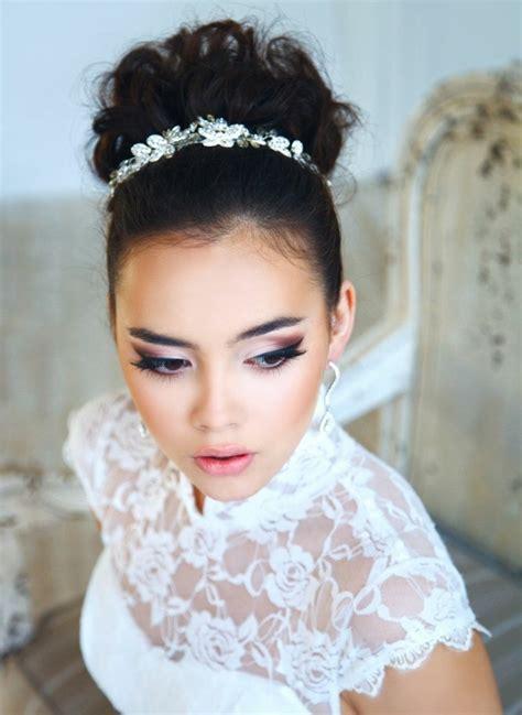 Brautfrisuren Mit Diadem brautfrisuren offen halboffen oder hochgesteckt 100