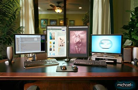 cool home office setups mashup 20 of the coolest home office workstation setups