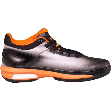orange basketball shoes for sale adidas mens solar orange black white basketball
