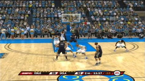 ncaa basketball 10 ps3 roster new ncaa basketball 10 updated for 2014 colorado vs ucla