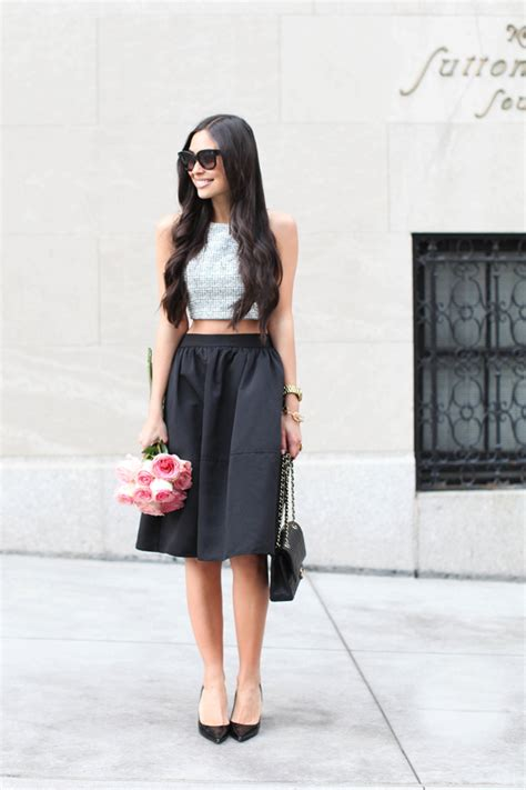 16 ideas with a midi skirt fashionsy