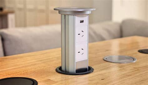 Kitchen Island Ebay by V3m Motorised Automatic Led Pop Up Power Outlet Point