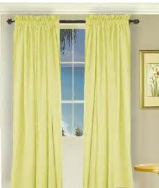 Light Yellow Curtains Solid Light Yellow Colored Shower Curtain
