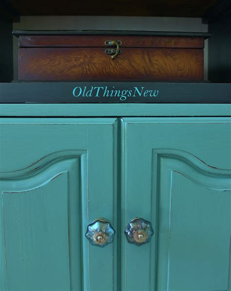 Turquoise Bedside Table Things New