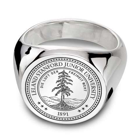 Mba Class Size Stanford by Stanford Sterling Silver Signet Ring At M Lahart Co