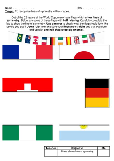 flags of the world ks2 flags symmetry worksheets by tomremnant teaching