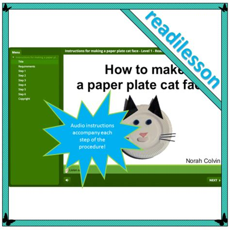 How To Make A Paper Cat - for a paper plate cat level 2