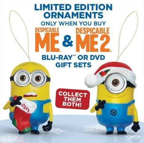 despicable me 1 2 limited edition gift
