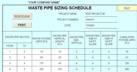 Plumbing Pipe Sizes Chart by Hvac Design Solutions Plumbing Design