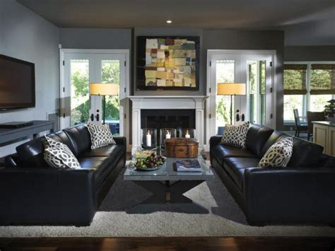 how to decorate a gray living room gray living room design ideas decor hgtv