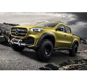 Navara Reloaded Mercedes Concept X Class Pick Up Revealed By CAR