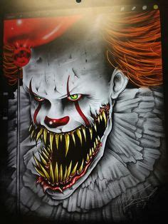 screaming needle tattoo allendale pennywise the dancing clown movies pinterest horror